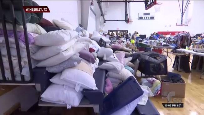 Centros de ayuda para víctimas de inundaciones
