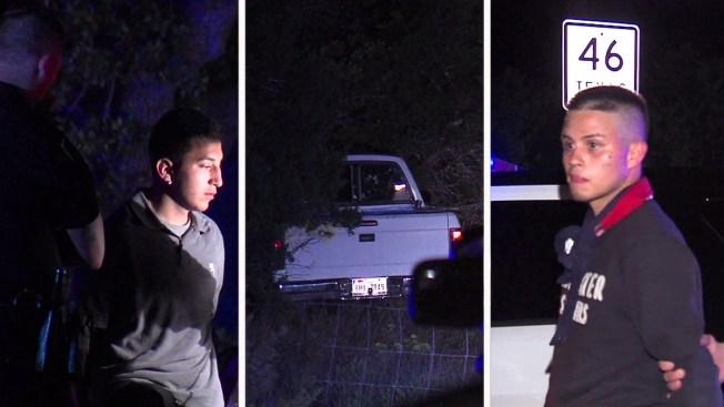 Adolescentes encabezan persecución policial