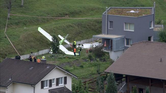Choque de avionetas en Suiza deja un muerto