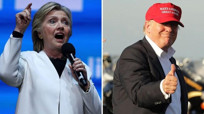 Clinton y Trump muestran estrategias distintas en la fase final