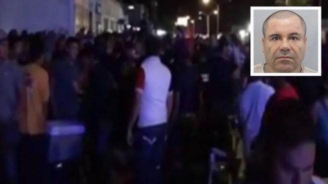 """Terror en concierto en corrido de """"El Chapo"""""""