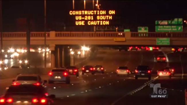 Alerta de tráfico: US 281 cerrada por 5 noches