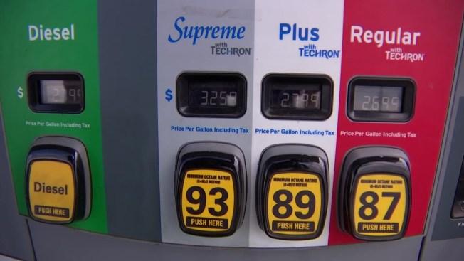 Continúa a la baja precio de combustible en Texas