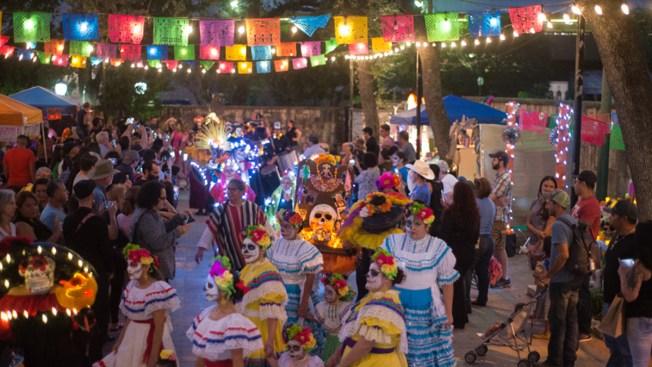 Celebraciones Del D 237 A De Los Muertos En San Antonio