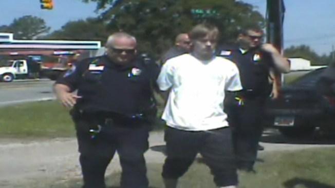 Divulgan video del arresto de Dylann Roof