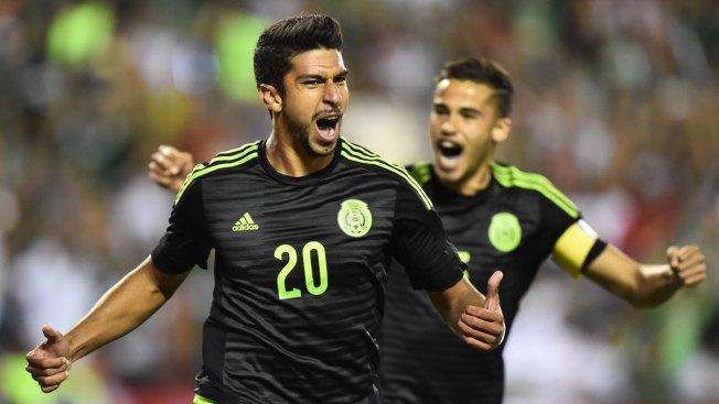 Mexico derrota 1-0 a Paraguay en partido amistoso