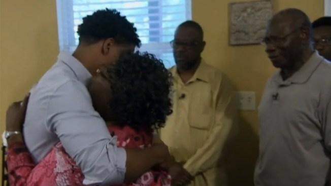 Emotiva reunión tras tragedia en Carolina del Sur