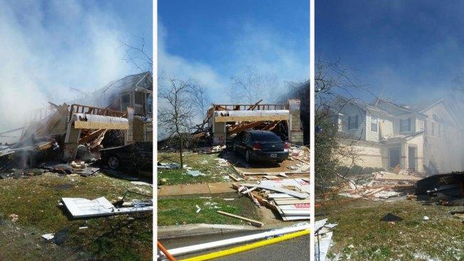 Explosión en zona residencial deja un herido