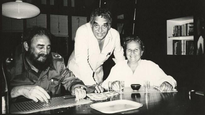 Al descubierto amistad entre Gabo y Fidel Castro