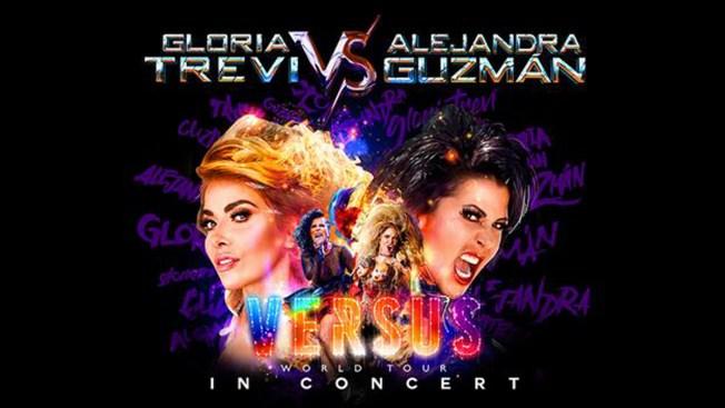 Gloria Trevi y Alejandra Guzmán en concierto en San Antonio
