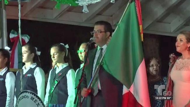 """Mexicanos en Texas celebran el """"Grito"""""""