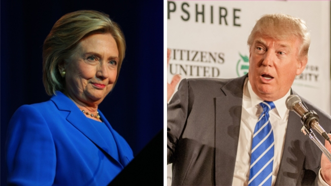 Encuesta: Trump aventajaría a Hillary Clinton