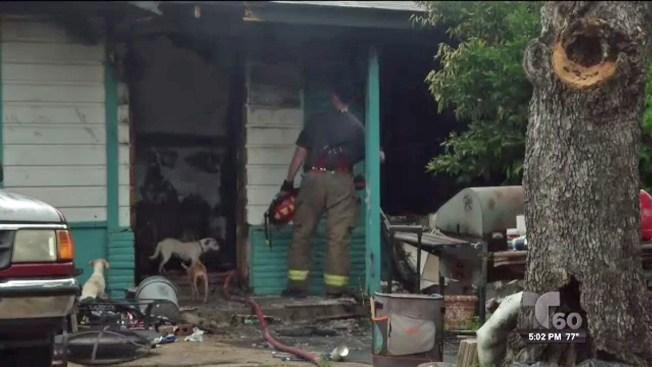 Identifican hombre muerto tras masivo incendio