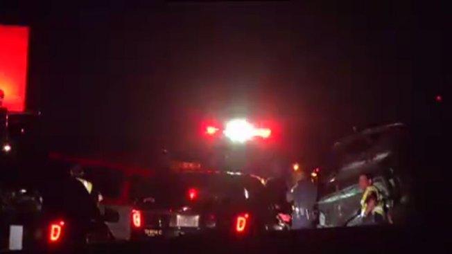 Mujer muerta, niño hospitalizado tras choque