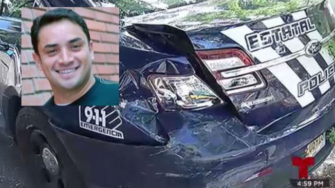 Manny Manuel choca ebrio contra patrulla