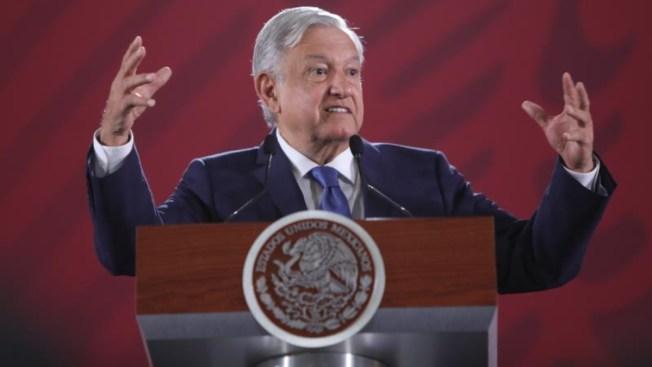 """AMLO: """"recetas"""" del FMI provocan alza en la inseguridad"""