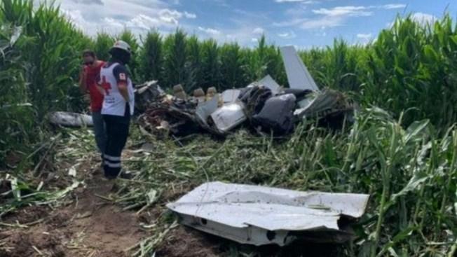 Se desploma avioneta en Chihuahua; 4 muertos