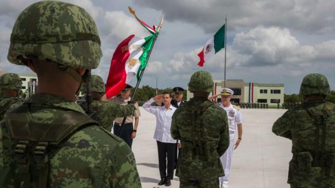 Policía militar refuerza seguridad en Cancún