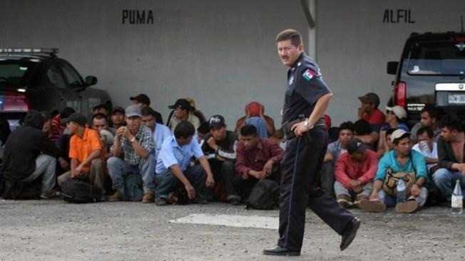 Interceptan a 124 migrantes centroamericanos