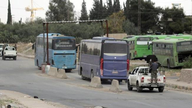 Por primera vez en siete años, liberan Damasco de ISIS