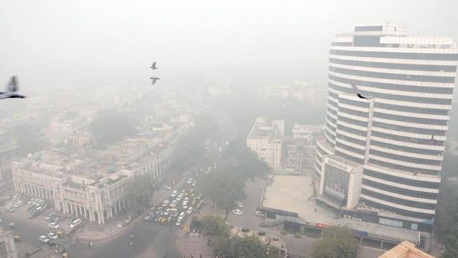 Cierran escuelas en la capital más contaminada del mundo