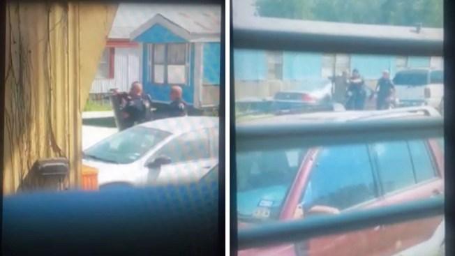 Roban auto del alguacil durante persecución