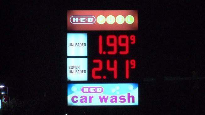 Gasolina a menos de $2 en San Antonio