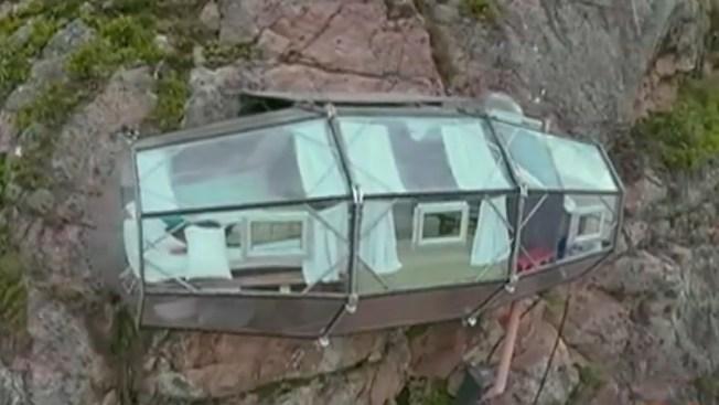 ¿Te hospedarías en un nido de cóndores?