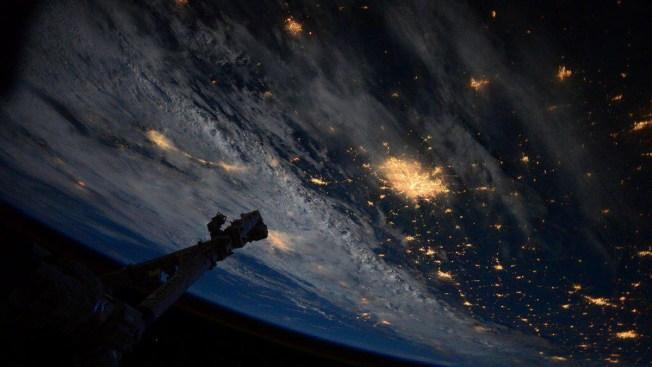 ¿Cómo se ve San Antonio desde el espacio?