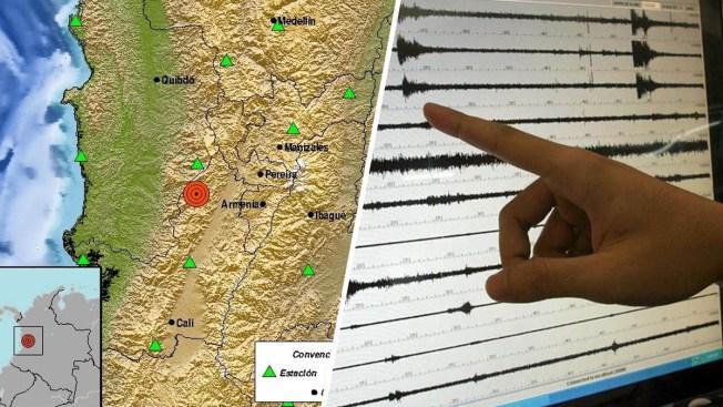 Terremoto de magnitud 6.0 sacude partes de Colombia
