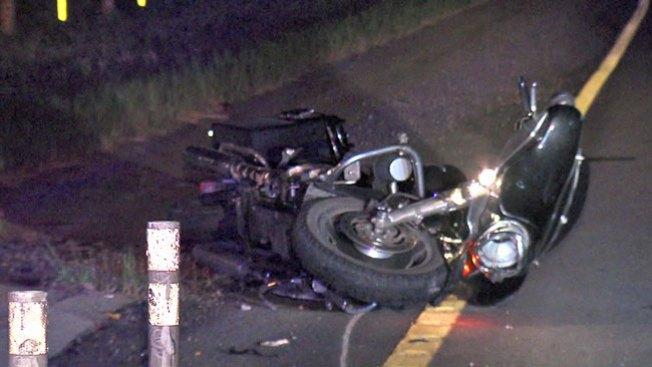 Motociclistas heridos en dos accidentes