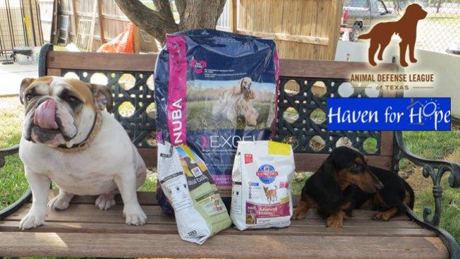 Donación de alimentos para mascotas