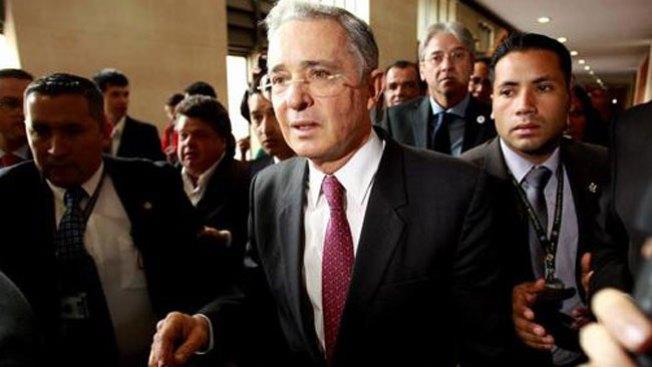 Álvaro Uribe: acusado de narcotráfico