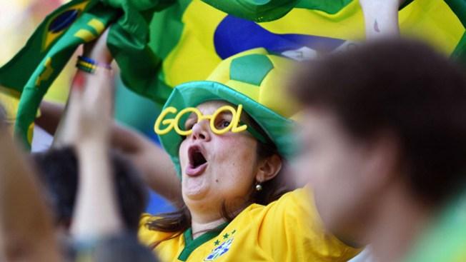 Fiebre del Mundial se apodera de Brasil