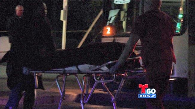 Búsqueda sigue tras tiroteo en autobús