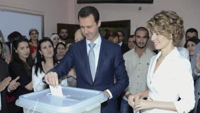 Bachar al Asad reelegido presidente sirio