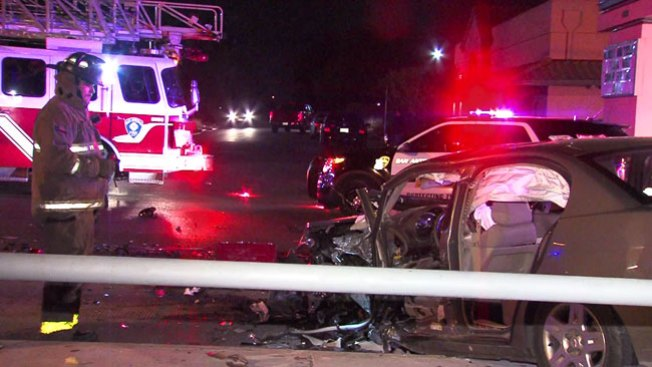 Tres mujeres hospitalizadas tras choque