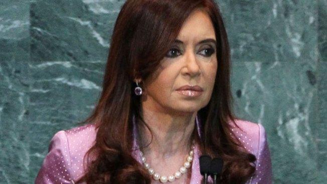 Argentina: presidenta en el hospital