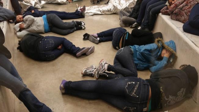 Baja la captura de niños inmigrantes