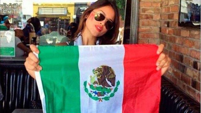Eiza González celebra al Tri con insulto