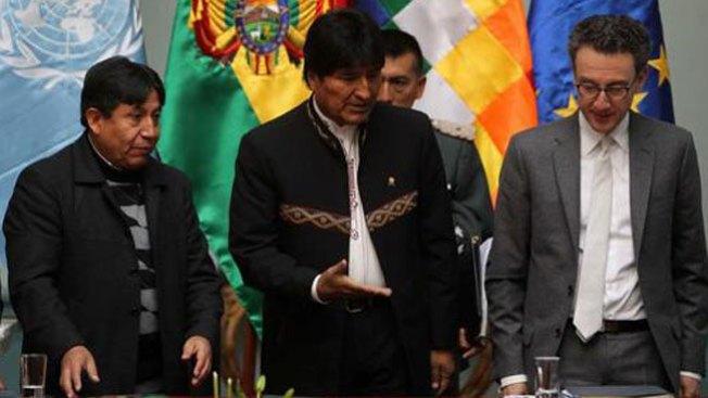 Evo Morales revela que bebía su orina