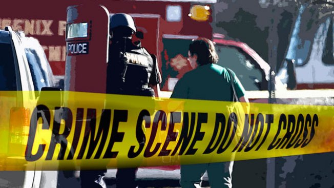 Policía dispara contra hombre armado