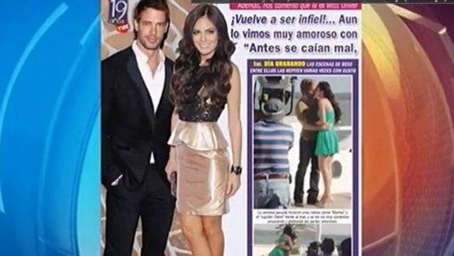 ¡Pillados, Levy y Ximena Navarrete!