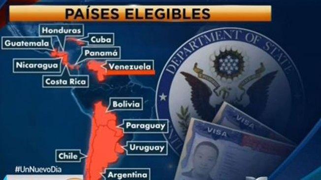 Comienza el plazo para la lotería de visas