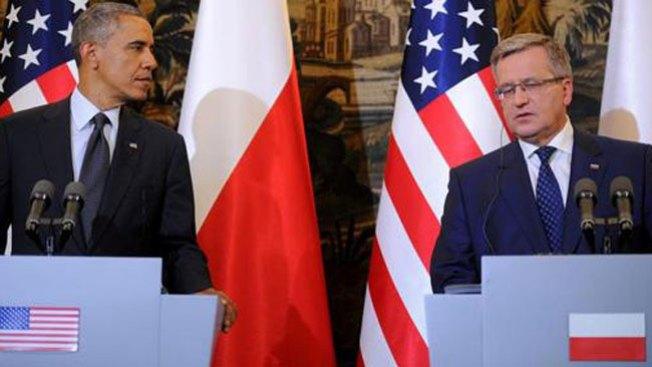 """EEUU y Polonia: """"juntos para siempre"""""""