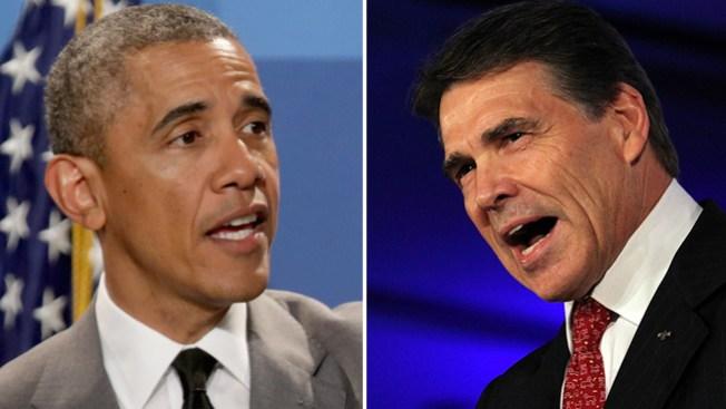 Reunión entre Obama y Perry en Dallas