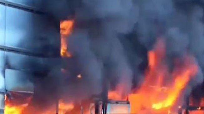 Guerrero: incendian palacio de gobierno