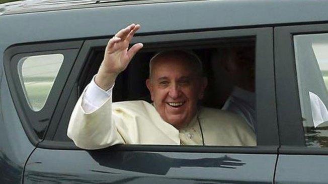El auto del Papa que fascina a coreanos