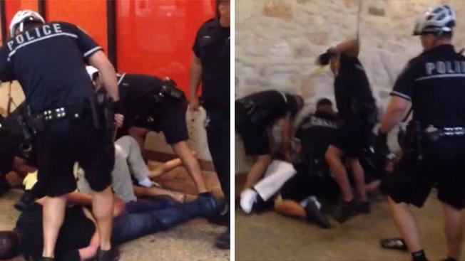 Violenta pelea deja tres arrestados