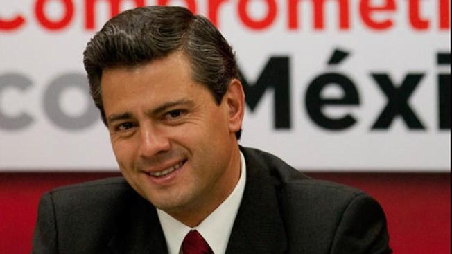 El papa recibe al presidente de México